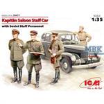 Opel Kapitän w/ Soviet Staff Personal