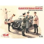 Kadett K38 Saloon Staff Car w/German Road Police