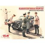 Kadett K38 Saloon Staff Car w/German Road Police