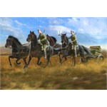 Soviet Regimental Artillery Horse Transport