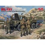 ZiL-131  Soviet Army Truck + 4 Figuren  NVA Decals