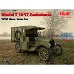 WWI American Car Model T 1917 Ambulance
