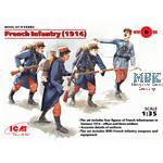 Französische Infantrie (1914)