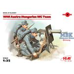 WWI Austro-Hungarian MG Team