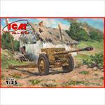 7,62 cm Pak 36(r) WWII German Anti-Tank Gun