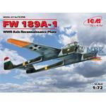 FW 189A-1, Axis Reconnaissance