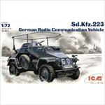 Sd.Kfz.223 German Radio Comunication Vehicle