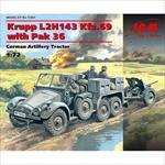 Krupp L2H143 Kfz.69 with Pak 36