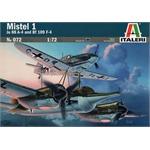 Mistel 1 Ju 88 A-4 and Bf 109 F-4