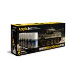 Acryl Set WWll Military German Army