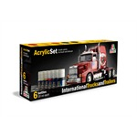 Acryl Set International Trucks and Trailers