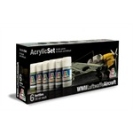 Acryl Set WWII Luftwaffe Aircraft