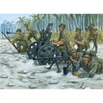 Jap. 70mm Gun Support Team 1:72