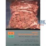 Ziegel RF (Reichsformat), ziegelrot Mix (1000 Stk)