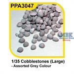 Cobblestones large - Kopfsteinpflaster groß
