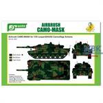 Airbrush CAMO-MASK Leopard 2 A5/A6