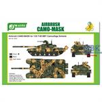 Airbrush CAMO-MASK T-90 MBT