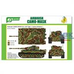Airbrush CAMO-MASK Tiger I Camo Scheme 1