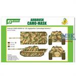 Airbrush CAMO-MASK Jagdpanther Camo Scheme 1