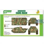 Airbrush CAMO-MASK Jagdpanther Camo Scheme 2