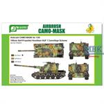 Airbrush CAMO-MASK 155mm SPH AUF-1