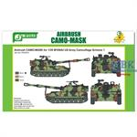 Airbrush CAMO-MASK US Army M109A2 Scheme #1