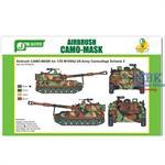 Airbrush CAMO-MASK US Army M109A2 Scheme #2