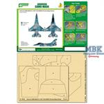 Airbrush CAMO-MASK for 1/48 F-16A