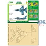Marking Mask for 1/72 F-16B NSAWC 04 Camo