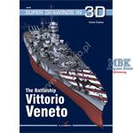 Kagero Super Drawings 3D: The Battleship Vittorio