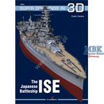 Kagero Super Drawings in 3D Japanes Battleship ISE
