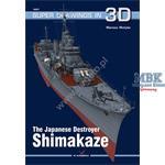 Kagero Super Drawings 3D IJN Destroyer Shimakaze