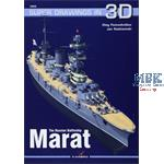 Kagero Super Drawings 3D Battleship Marat