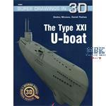 Kagero Super Drawings 3D U-Boot Type XXI
