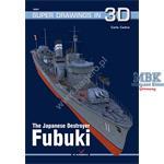 Kagero Super Drawings 3D IJN Destroyer Fubuki