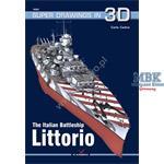 Kagero Super Drawings 3D Ital.Battleship Littoro
