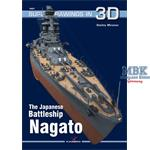 Kagero Super Drawings 3D: The Battleship  Nagato