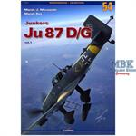 Monographs No. 54: Junkers Ju 87 D/G, Vol. I