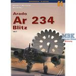 Monographs No. 61 Arado Ar 234 Blitz Volume 1