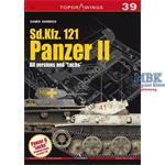 Kagero Top Drawings 39 Sd Kfz 121 Panzer II all