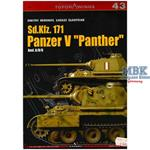 Kagero Top Drawings 43 Sd Kfz 171 Panzer V Panther