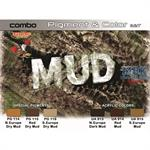 Mud Paint & Pigment Combo Set