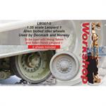 Leopard 1 Allen bolted idler wheels
