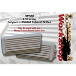 Leopard 1 Welded Exhaust Grilles