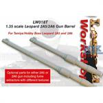 Leopard 2A5/2A6 Gun Barrel (for Tamiya)