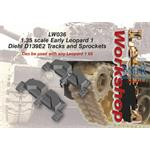 Early Leopard 1 Diehl D139E2 Tracks and Sprockets