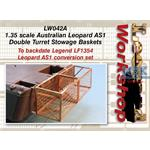 Austral. Leopard AS1 Double Turret Stowage Basket