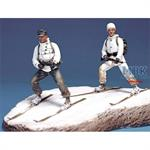 German Ski Troopers Set w/Base