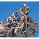 IDF M151 Shmira Crew Set (3 Figuren)