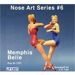 Memphis Belle - Nose Art Series #6 (B-17 Flying Fo